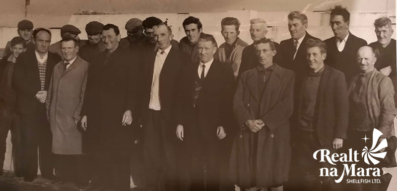 Staff of Cromane Mussels Station 1967